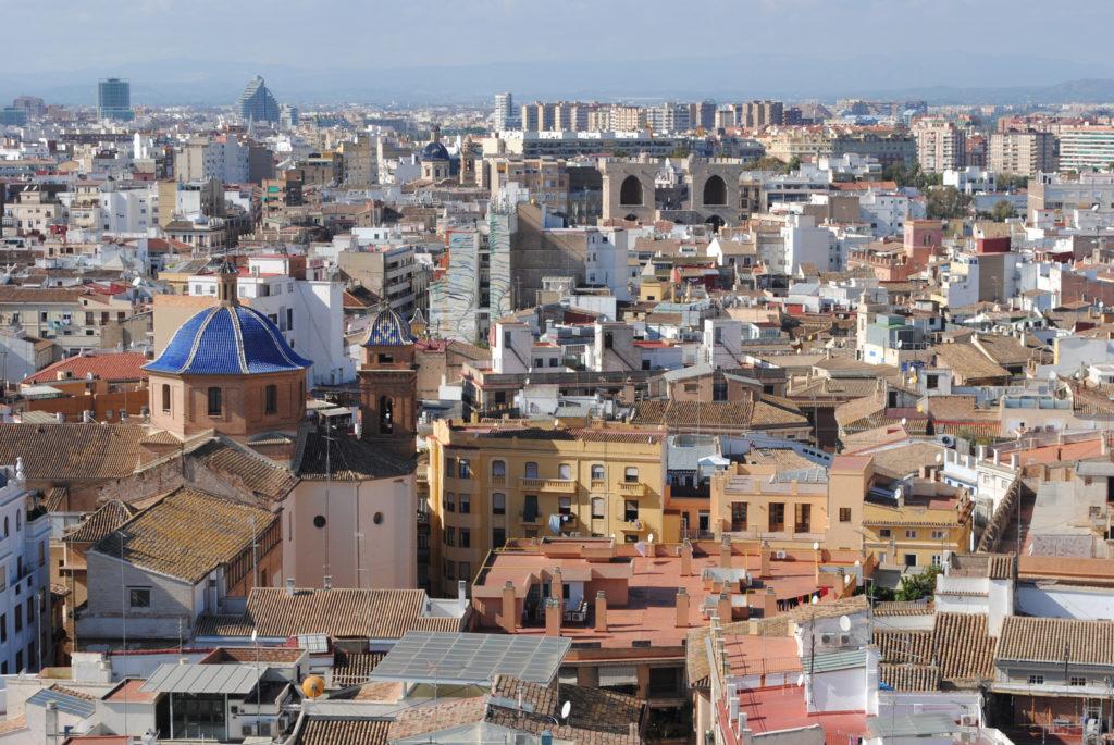Valencia - razgled z zvonika