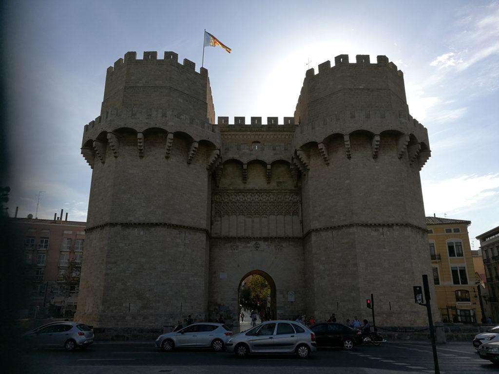 Valencia: Torres de Serranos