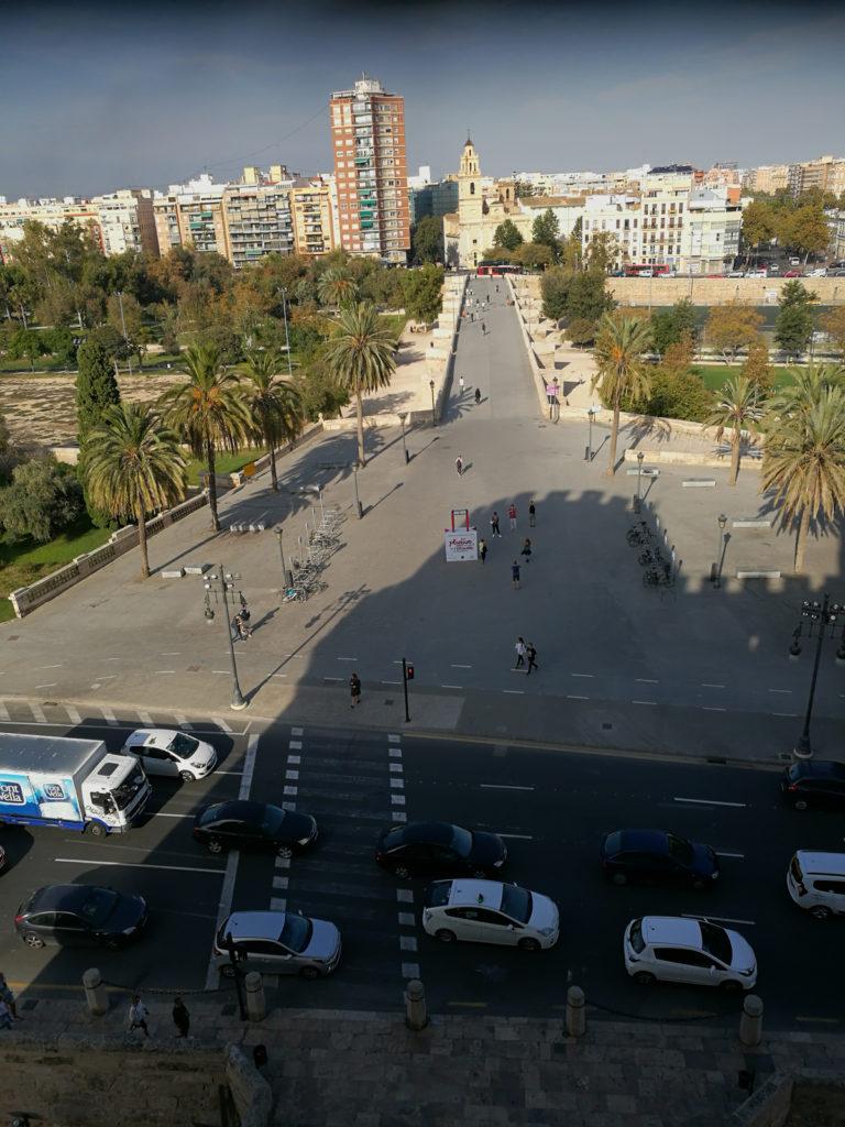 Valencia: Torres de Serranos - razgled
